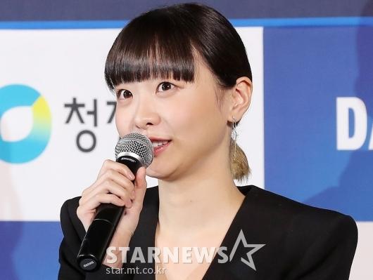 [★포토]김다미 '핸드프린팅 떨려요'