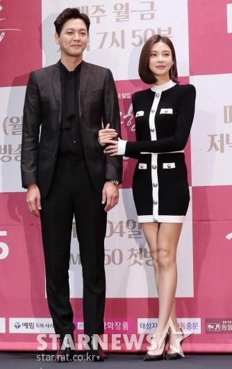 [★포토]김흥수-차예련 '훈훈한 커플 케미'