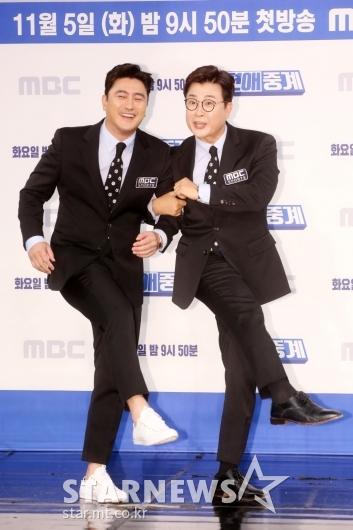 [★포토]안정환-김성주 '웃음 골 기대하세요'