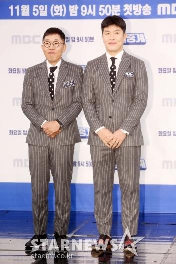 [★포토]김제동-김병헌 '편애중계 기대하세요'