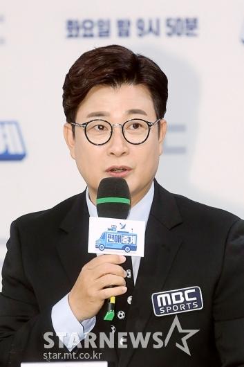 [★포토]김성주 '완벽한 중계 책임질게요'