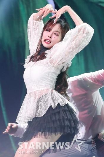 [★포토]현아 'S라인 몸매'