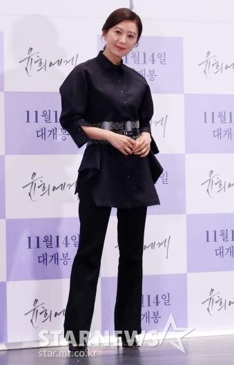 [★포토]김희애 '언니의 시크 블랙'