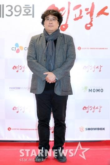 [★포토]포즈 취하는 봉준호 감독