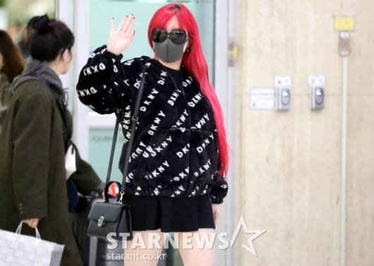 [★화보]박봄 '다 가려도 박봄이죠!'