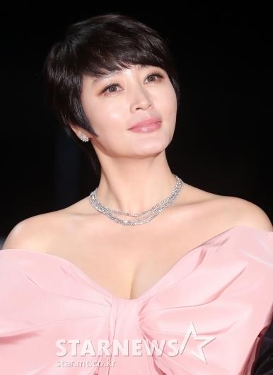 [★포토]김혜수 '청룡영화상 안방 마님'
