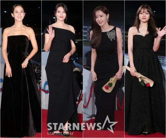 [★포토]조여정-수영-윤아-고아성 '우아한 블랙 드레스'