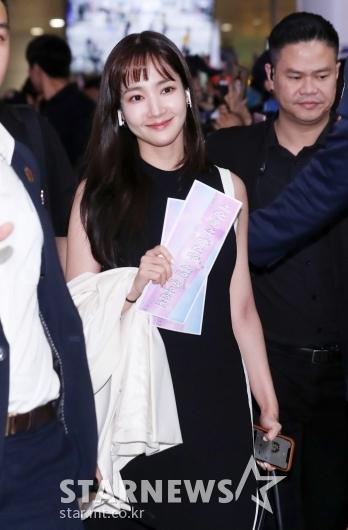[★포토]박민영 '베트남에서도 단연 돋보이는 미모'