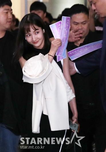 [★포토]박민영 '팬들의 사랑 챙겨갈게요'