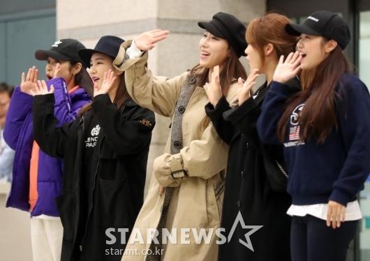 [★화보]송가인-숙행-홍자-김소유-정다경 '미주투어 다녀왔어요'