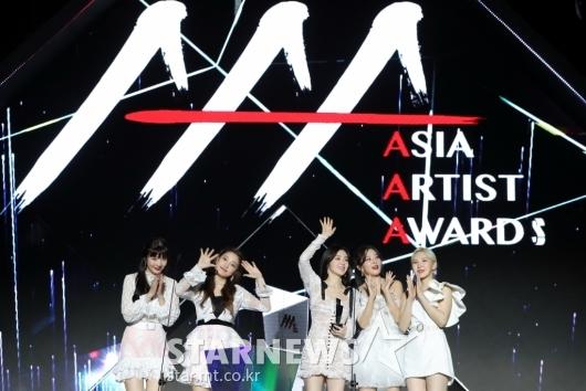 [★포토]레드벨벳, '2019 AAA 베트남' 올해의 노래상 수상