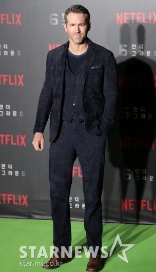 [★포토]라이언 레이놀즈 '멋진 슈트 패션'