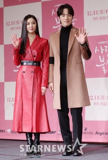 [★포토]서지혜-김정현 '묘한 커플 케미'