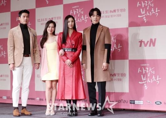 [★포토]드라마 '사랑의 불시착'의 주역들