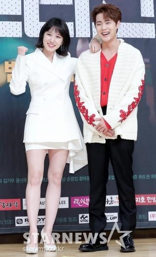 [★포토]박은빈-조병규 '팀장과 사원'