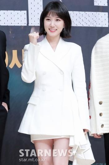 [★포토]박은빈 '파이팅도 예쁘게'