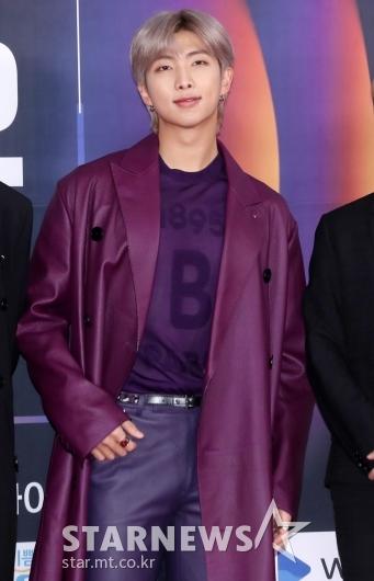 [★포토]RM '아무나 소화하기 힘든 보라'