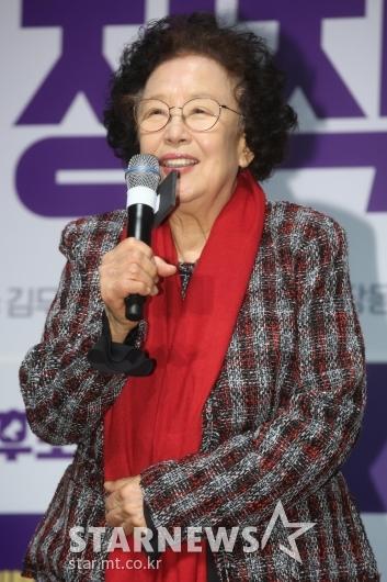 [★포토]나문희 '정직한 후보, 기대하세요'