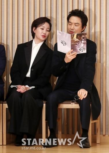 [★포토]진경-한석규 '어디보자'