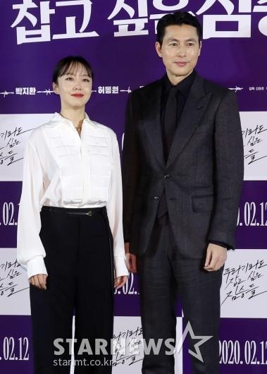 [★포토]전도연-정우성 '첫 호흡에 케미 폭발'