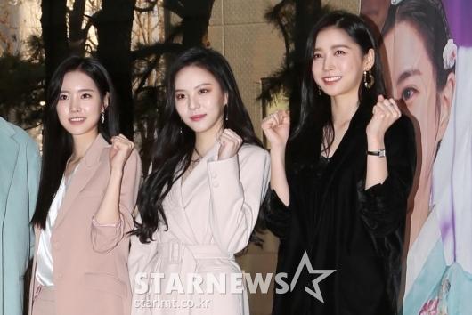 [★포토]진세연-이열음-이화겸 '미모 진검 승부'