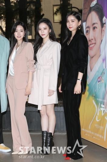 [★포토]진세연-이열음-이화겸 '조선 미녀 3인방'