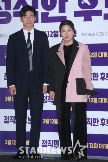 [★포토]김무열-라미란 '정직한 포즈'