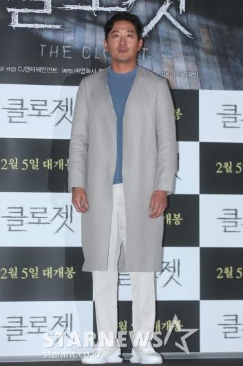 [★포토]하정우 '명품 배우 포즈'
