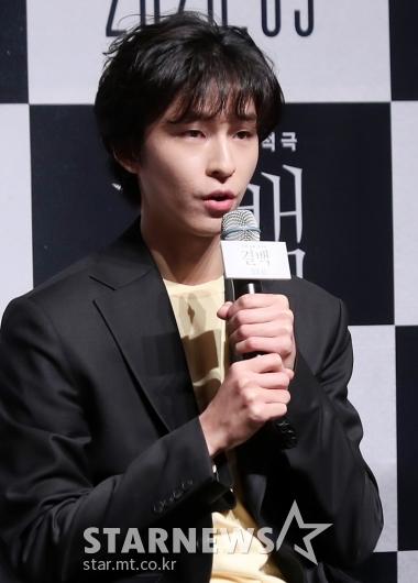 [★포토]홍경 '첫 제작보고회 참석합니다'