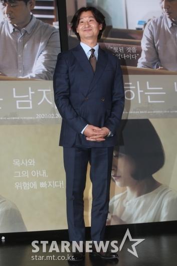 [★포토]박혁권 '목사로 컴백했어요'