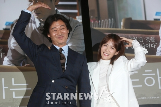 [★포토]박혁권-류현경 '우리 신혼부부 같죠?'