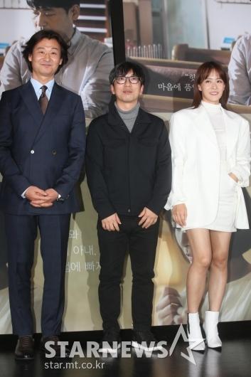 [★포토]화면 꽉 채운 '박혁권-강동헌 감독-류현경'
