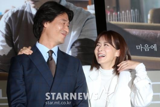 [★포토]박혁권-류현경 '함께할 수 있어 행복해'
