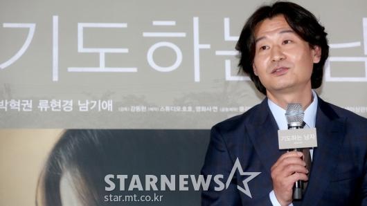 [★포토]박혁권 '흥행 위해 기도드립니다'