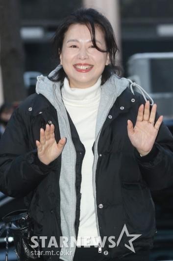 [★포토]장혜진 '행복한 웃음'