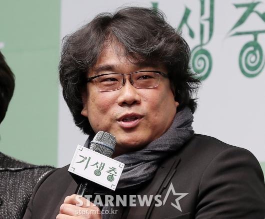 [★포토]인사말 하는 '기생충' 봉준호 감독