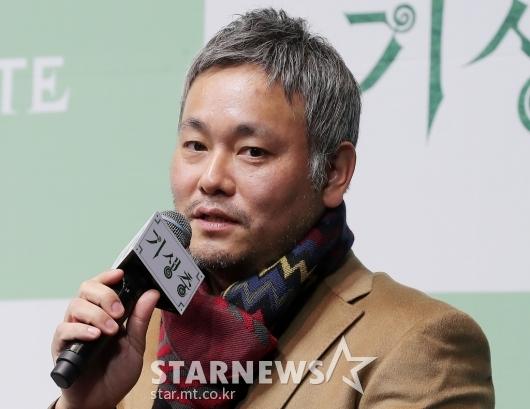 [★포토]'기생충' 기자회견 참석한 이하준 미술감독