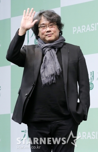 [★포토]한국영화 세계에 알린 '기생충' 봉준호 감독