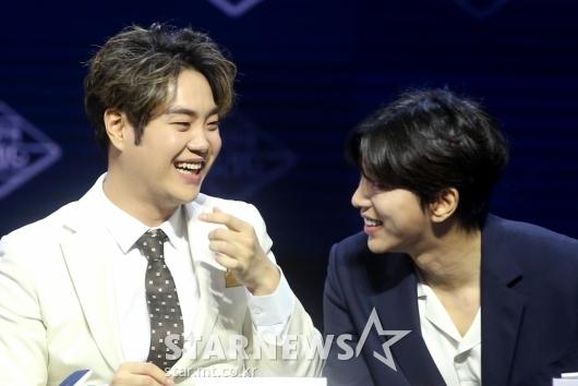 [★포토]유재환-윤현민 '행복한 미소'