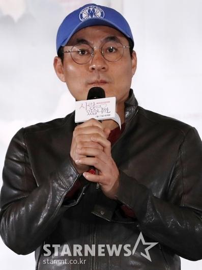 [★포토]영화 '사랑하고 있습니까'의 김정권 감독