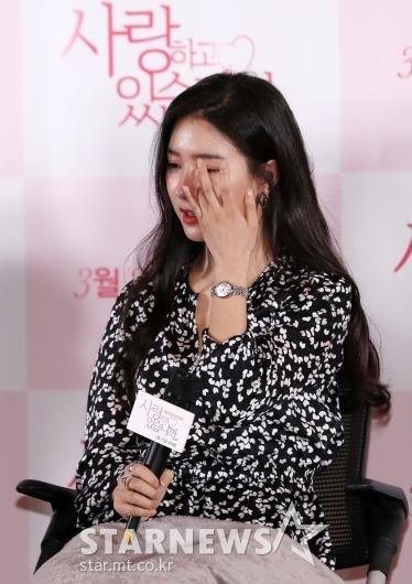 [★포토]김소은 '故 전미선 배우 생각에 눈물'