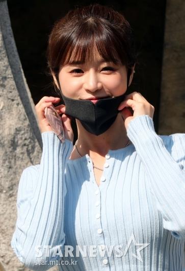 [★포토]한여름 '마스크 꼭 쓰고 투표하세요'