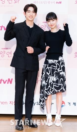 [★포토]박진영-전소니 '화양연화' 파이팅!