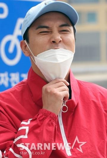 [★포토]장민호 '큰형의 장난기어린 얼굴'