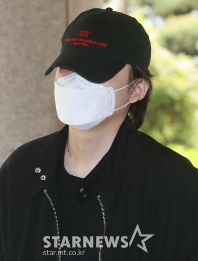 [★포토]마스크 뒤에 숨은 장용준