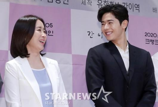 [★포토]윤유선-김동준 '즐거운 미소'
