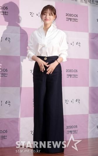 [★포토]김재경 '다리 길어 보이는 패션'
