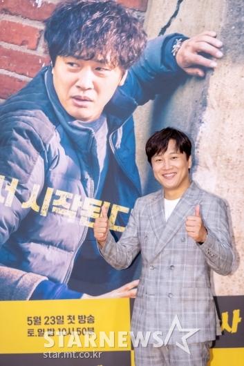 [★포토]차태현 '자숙 끝내고 복귀'