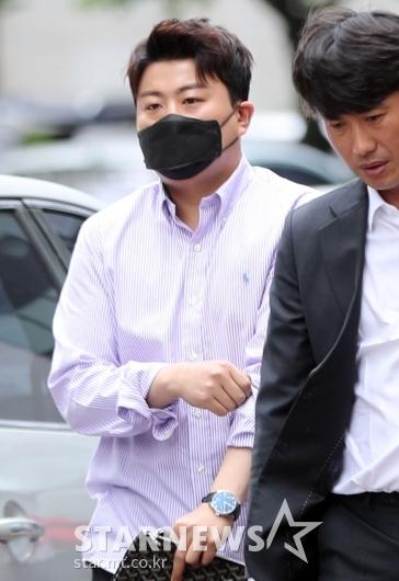 [★포토]김호중 '유스케 출근길'