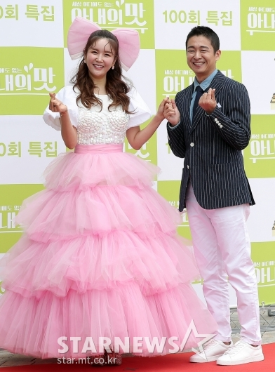 [★포토]장영란 부부 '행복한 미소'